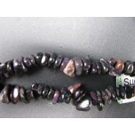 34-35 Inch Chip Necklace -  Sugilite