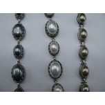Shell Pearl Bracelet - Ovals - Three Colors Available!