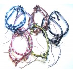 16 Inch Double China Knot Necklace w/Extension 10 piece pack - Assorted Colors