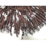 Brown Cell Phone Cord 100 piece pack