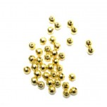 762 Gold Plated 4mm Round Spacers 150 Piece Packs
