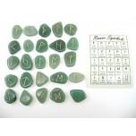 Runes - Aventurine 25 pc set