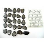 Runes - Hematite 25 pc set