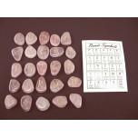 Runes - Rose Quartz 25 pc set