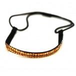 Double Row Headband - Amber