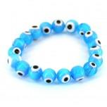 Eye Bracelet - Baby Blue