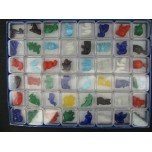 1 Inch Figurine Collection 3 Fantasic Kingdom - Assorted 48 piece pack